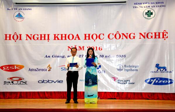 MC: Ths.BS Trần Văn Lời và DS.CKI Nguyễn Kim Chi